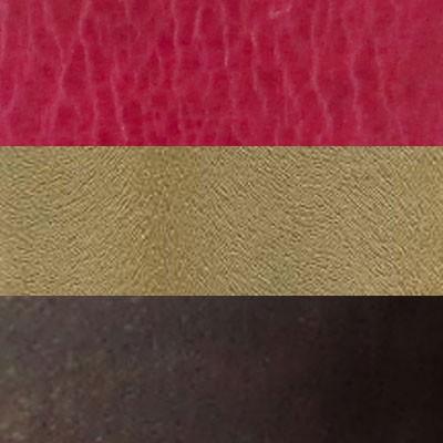 GOLD, FUSCHIA  AND DARK BROWN