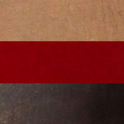 TAN,  RED AND DARK BROWN