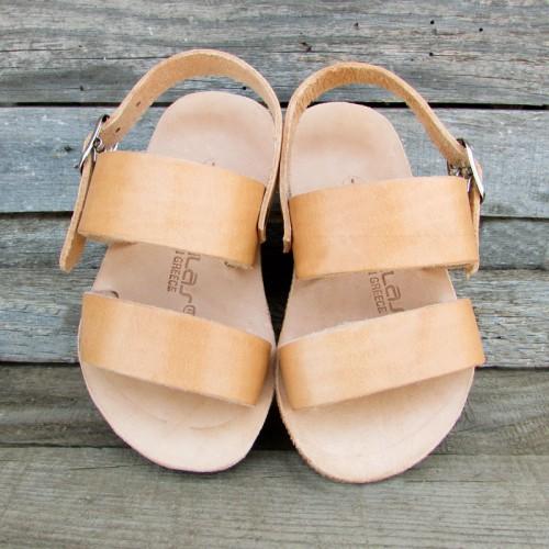 Kids Slingback Double Strap Sandals