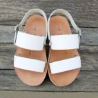 Slingback Double Strap Sandals