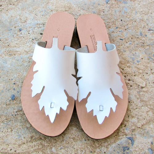 Grape Leaf Sandals