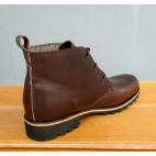 Mens 3 Inch Handmade Cowhide Spartan Leather Boots