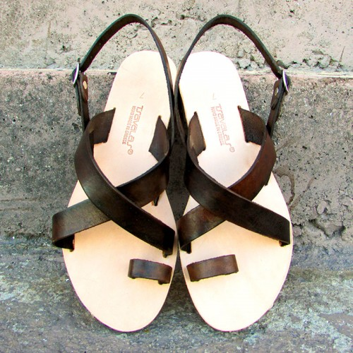 Criss-Cross Toe Post Sandals