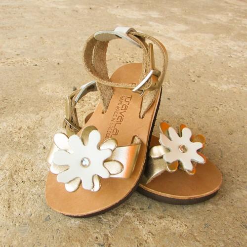Kids Flower Toe Loop Sandals