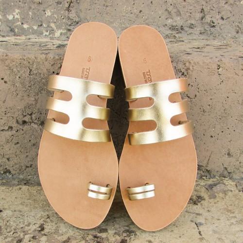 Tribal Fishbone Sandals