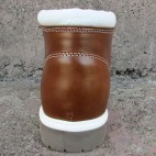 Womens 3 Inch Handmade Cowhide Shepherd Leather Boots