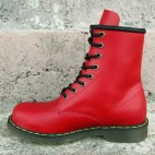 Womens 8 Inch Handmade Leather Boots