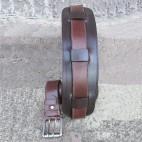 Calfskin Leather Belt Caramel Tan