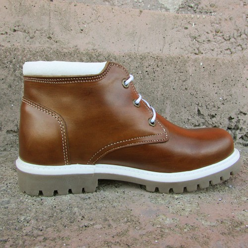 Womens 3 Inch Handmade Cowhide Leather Boots