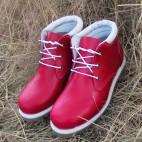 Womens 3 Inch Handmade Cowhide Shepherd Leather Boots